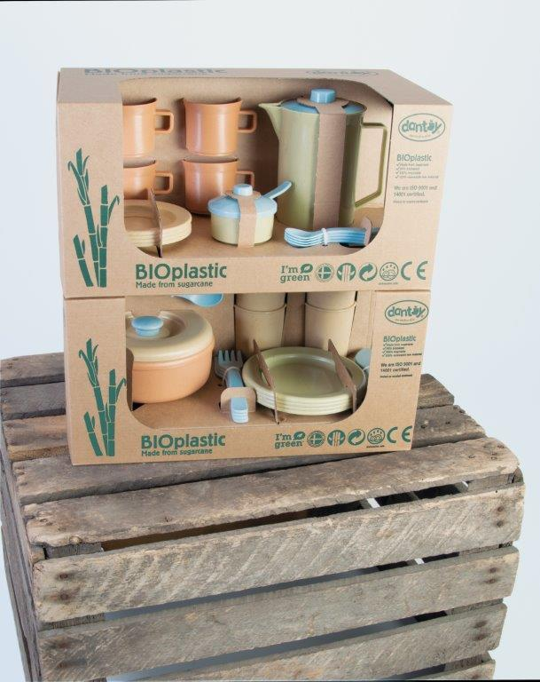 Dantoy BIO zestaw kawowy naczyń dla dzieci